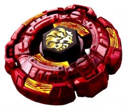 Beyblade Fang Leone Burning Claw med Wind and shoot launcher
