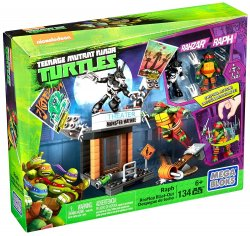 Mega Bloks Teenage Mutant Ninja Turtles Rooftop Blast-Out