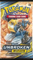 Pokemon Sun & Moon 10 Unbroken Bonds Booster