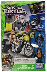 Mega Bloks Teenage Mutant Ninja Turtles Bebop Moto Attack