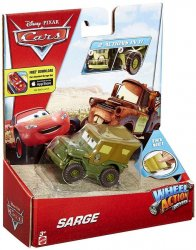 Disney Cars Wheel Action Drivers Sarge Diecast Car