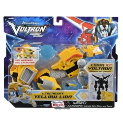 Voltron Legendary Yellow Lion