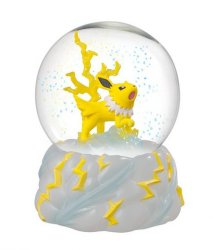 Pokemon Jolteon Snö Globe