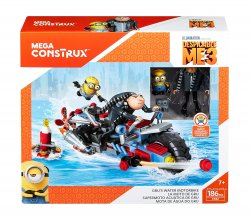 Mega Construx Despicable Me 3 Gru's Water Motorcycle