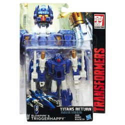 Transformers Titans Return - Triggerhappy and Blowpipe