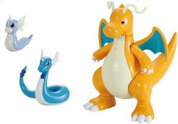 Pokemon Dragonite Evolution Set