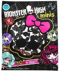 Monster high minis season 1 Blingbags 6 st