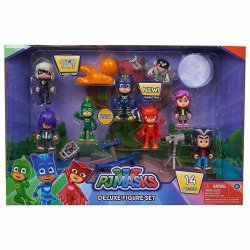 PJ Masks Deluxe Figure Set - Pyjamashjältarna ! Original