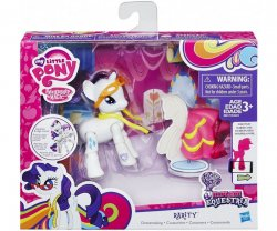 My Little Pony Explore Equestria Rarity Dressmaking Poseable Action Pony