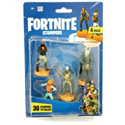 Fortnite Stampers 4 Pack (Series 1)