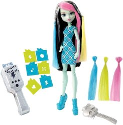 Frankie Stein Voltageous Hair - Monster High docka