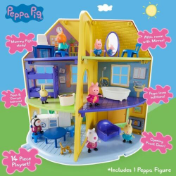 Peppa Pigs Peppas Family Home Playset