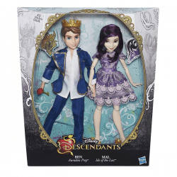 Disney Descendants Mal Isle of the Lost and Ben Auradon
