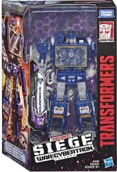 Transformers War for Cybertron VOYAGER SOUNDWAVE