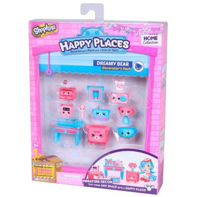 Shopkins Decorator's Pack, Dreamy Bear, Happy Places