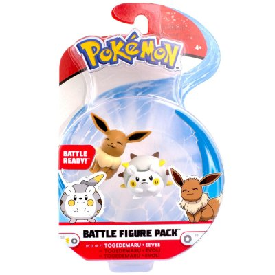 Pokemon - Togedemaru/Eevee Battle Figure
