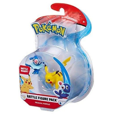 Pokemon Battle Figure Pack Pikachu & Popplio 2 Figure Set