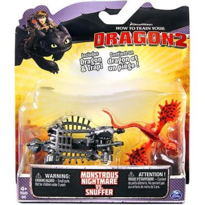 DreamWorks Dragons Monstrous nightmare vs snuffer 2-Pack