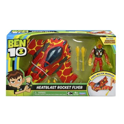 Ben 10 Heatblast Med Rocket Flyer