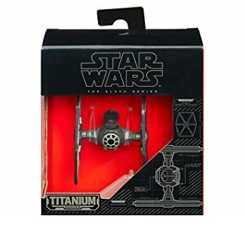 Star Wars Black Series - Titanium Series Tie Figther