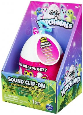 Hatchimals Mystery Plush Clip-On