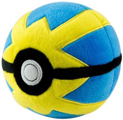 Pokemon Quick ball Pokeball Gosedjur Plush Plysch Mjukis 12cm