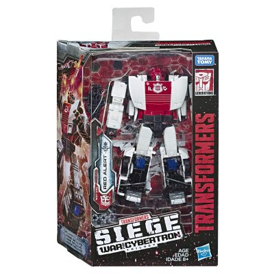 Transformers War for Cybertron RED ALERT