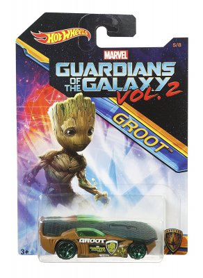 Hot Wheels Guardians of Galaxy Groot