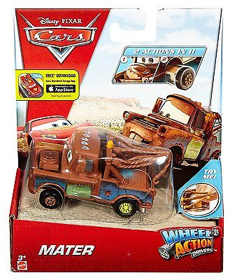 Disney / Pixar Cars Wheel Action Drivers Mater Diecast Car