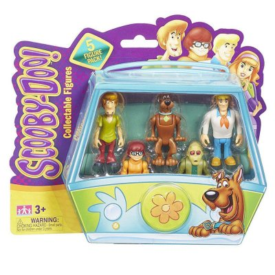 Scooby-Doo 5 Figure Pack