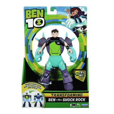 Ben 10 Transforming Alien - Ben-To-Shock Rock