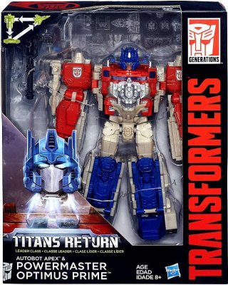Transformers Titans Return - Powermaster OptimusPrime