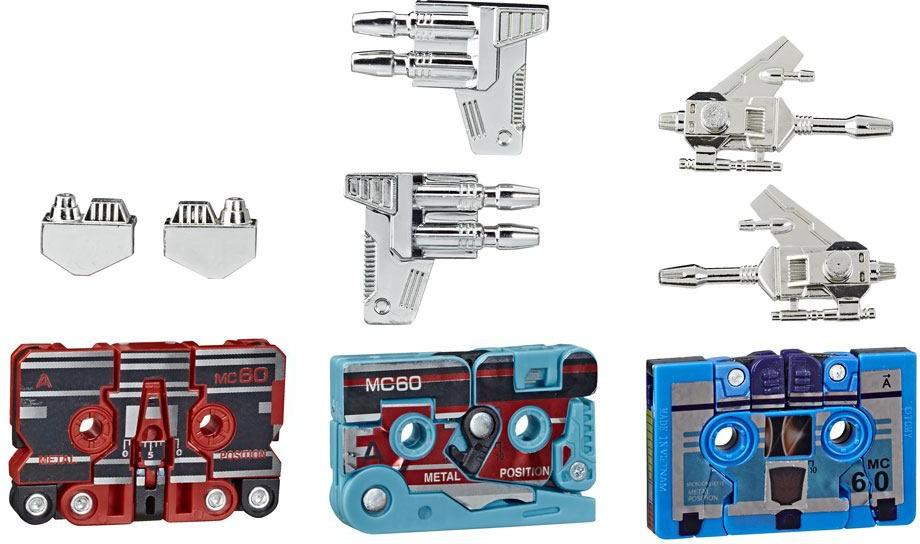 Transformers G1 Vintage Reissue 3 pack Mini Cassettes HasCon 2019 Exclusive
